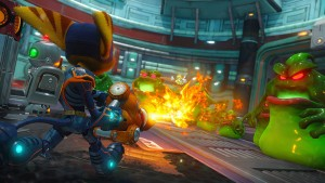 Ratchet & Clank combate
