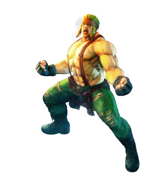ALEX Street Fighter V