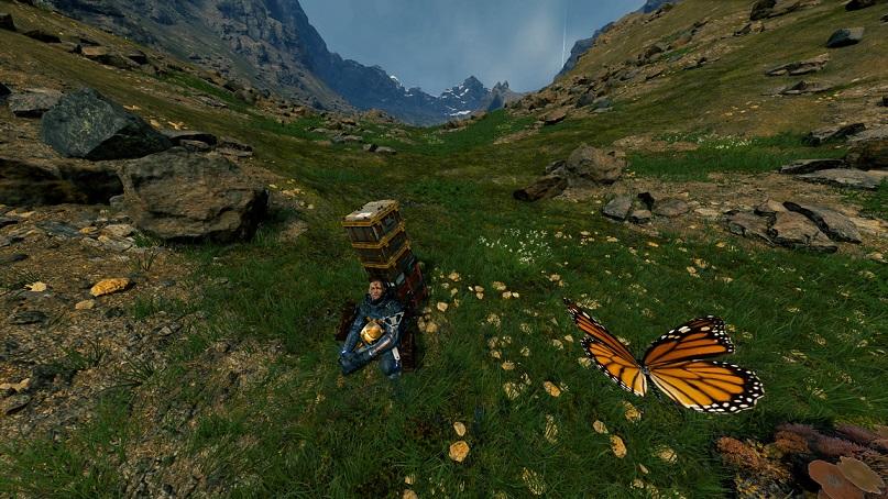 En Death Stranding también hay momentos para disfrutar de las vistas