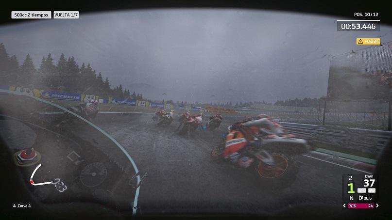 MotoGP 20 lluvia
