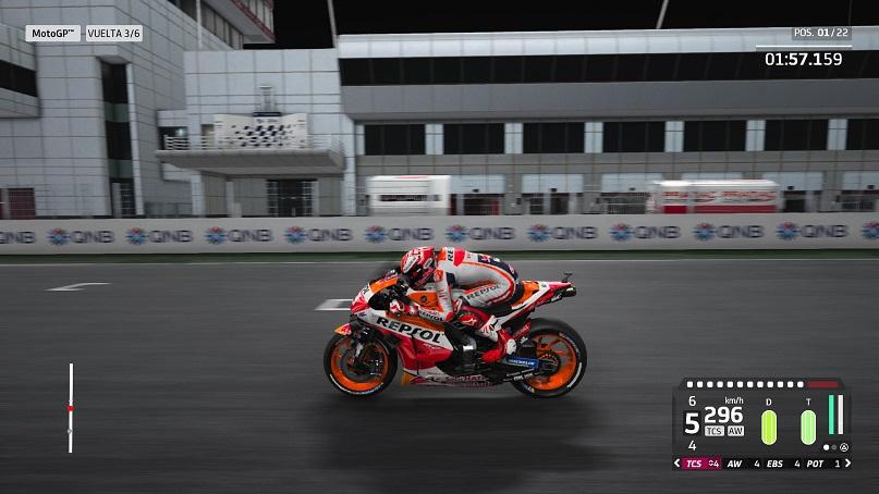 MotoGP 20 moto